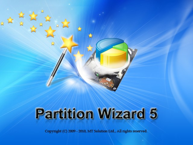 MiniTool Partition Wizard启动界面
