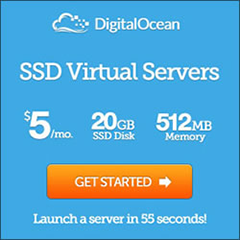 DitigalOcean,SSD高性价比VPS